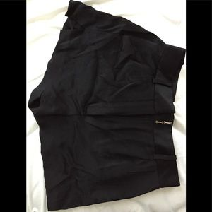 Black Versace shorts